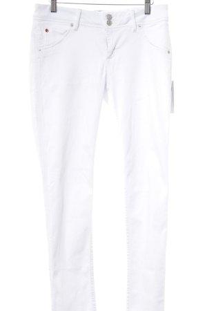 Hudson Skinny Jeans weiß Casual-Look