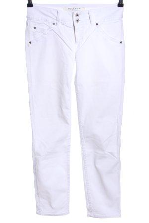 Hudson Slim Jeans weiß Casual-Look