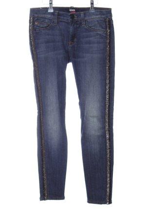 Hudson Slim Jeans blau Casual-Look