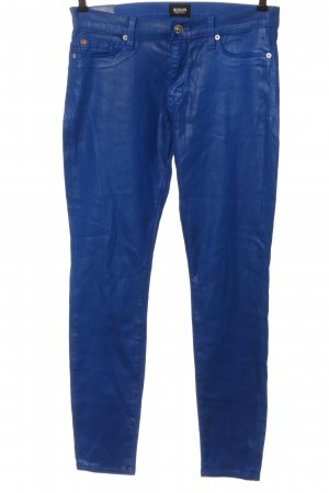 Hudson Stretchhose blau Casual-Look