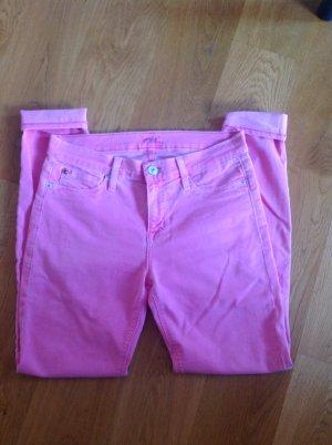 Hudson Jeans skinny fucsia neon-rosa