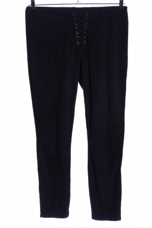 Hue Low-Rise Trousers black casual look