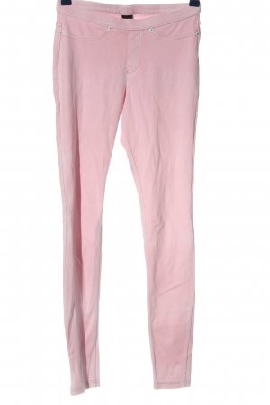 Hue Low-Rise Trousers pink casual look