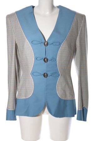 Hübner Haute Couture Kurz-Blazer Karomuster Casual-Look