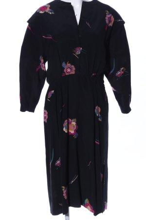 Hübner Haute Couture Midikleid Blumenmuster Elegant
