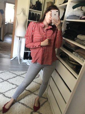 Hübsche allover Love Bluse von H&M