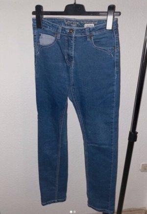 Spodnie biodrówki niebieski