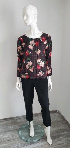 Hübsche Bluse Rosen Print