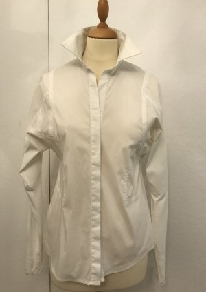 BCBG Maxazria Blouse-chemisier blanc coton