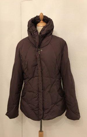 Down Jacket brown nylon