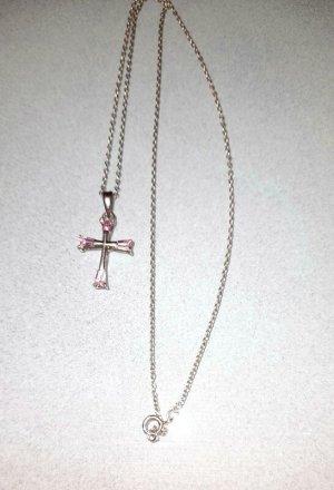 Silber Chaîne en argent argenté-rosé métal