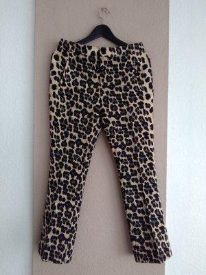 hübsche Hose in Animalprint, Grösse 38