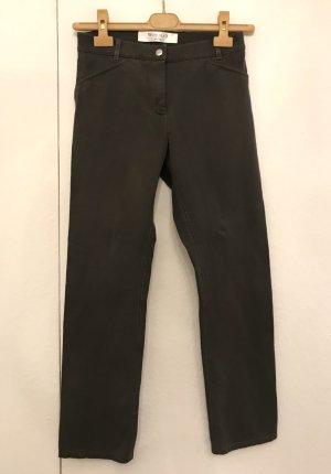 Hübsche Hose in Kaki Ton von Woolsley, Gr. 34,36