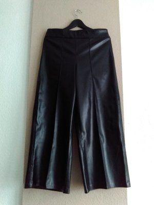 hübsche Hose in schwarz, Kunstlederoptik, Grösse L, neu