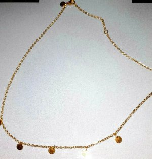 Elli PLÄTTCHEN Necklace gold-colored metal