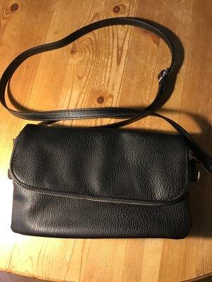 Mini Bag black mixture fibre