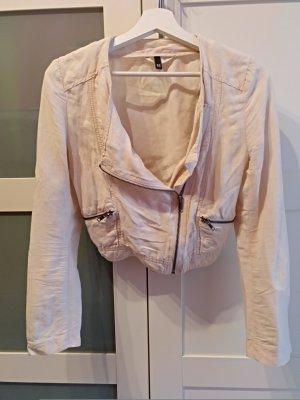 Hübsche kurze Leinen-Jacke -Größe S-