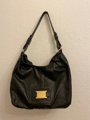 Lottusse Pouch Bag black leather