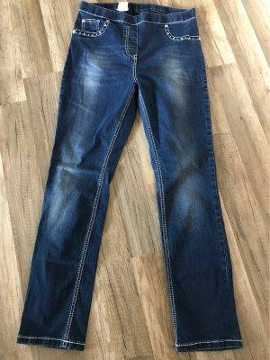 Mocca Italy Jeans stretch bleu foncé