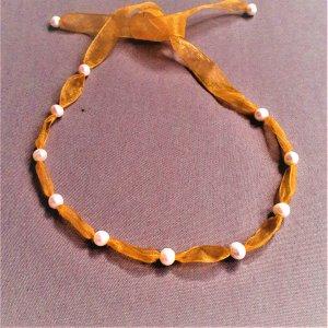Naszyjnik brzoskwiniowy