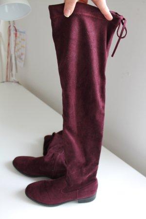 Hübsche Overknees Stiefel