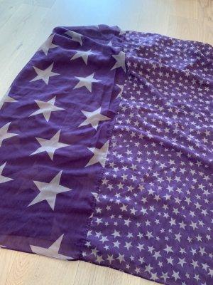 Pieces Summer Scarf dark violet