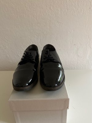 Zanon & Zago Lace Shoes black leather