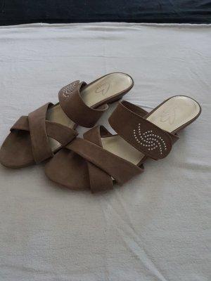 Bonita Sandały japonki szaro-brązowy
