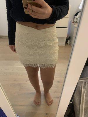 Pimkie Lace Skirt cream