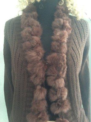 Wool Jacket dark brown