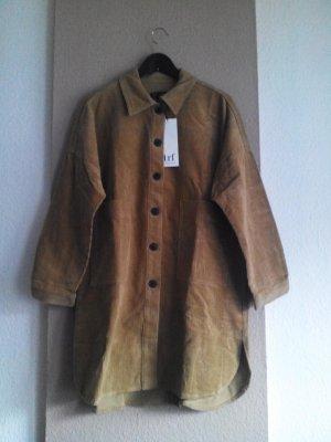 hübsche Überhemd-Jacke aus 100% Baumwolle, Kordoptik, Grösse M, neu
