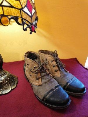 Hübsche, warme Ankle Boots im Boho Style, 37