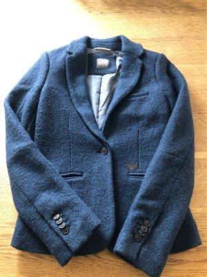 Gsus Giacca di lana blu scuro