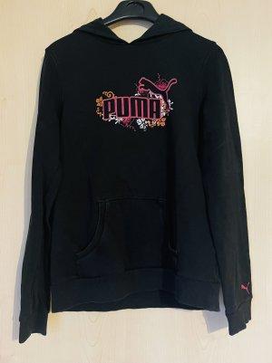 Puma Jersey con capucha negro
