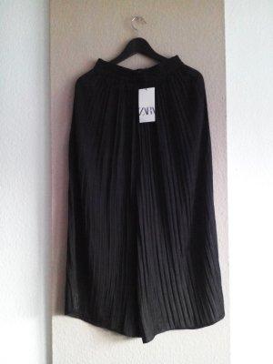 Zara Jupes-culottes noir polyester