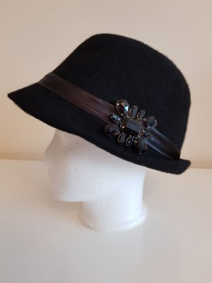 Bijou Brigitte Chapeau noir laine
