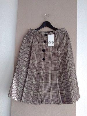 Zara Culotte Skirt multicolored polyester