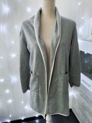 classic fashion Cardigan light grey-white