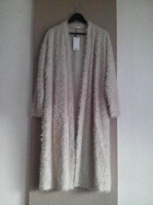 hübscher Long-Cardigan in creme, Grösse M, neu