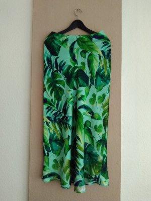 hübscher Midirock mit Tropischem-Print, Größe M, neu
