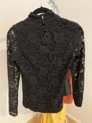 Anna Field Koronkowa bluzka czarny