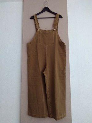 Zara Dungarees light brown cotton