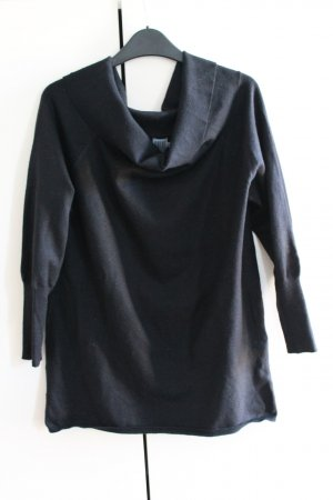 Saint Tropez Fijn gebreide cardigan zwart