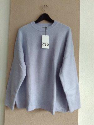 hübscher Pullover in flieder, Grösse L, neu