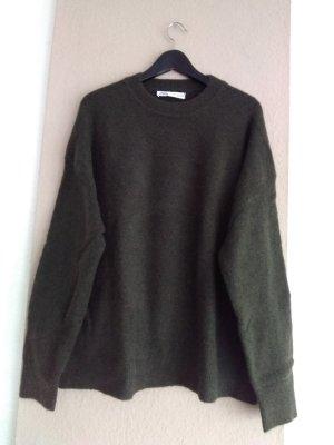 hübscher Pullover in khaki, Grösse XL, neu