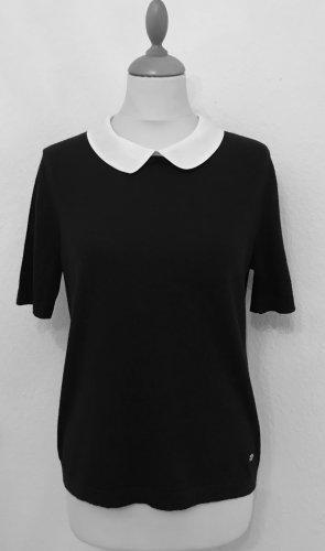 Hübscher Pullover mit abnehmbaren Bubikragen von Rena Lange, Gr.L,38,40. LETZTE REDUZIERUNG!!!