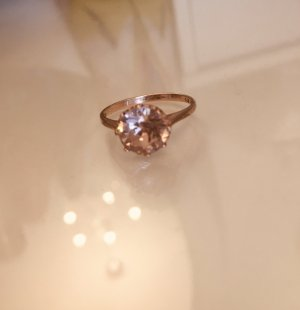 Accessorize Gold Ring rose-gold-coloured