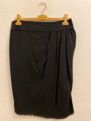 CLASS Roberto Cavalli Spódnica w kształcie tulipana czarny Wiskoza