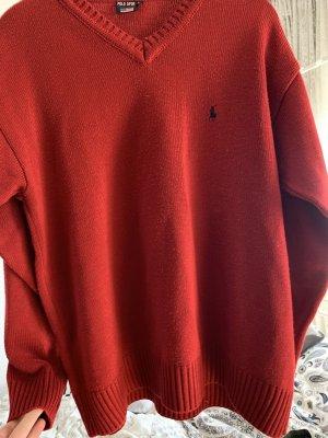 Hübscher roter Ralph Lauren Pullover in einem Top Zustand