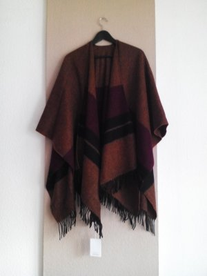 & other stories Poncho in maglia multicolore Lana